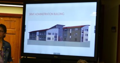 """SRMT Discusses Tribal Heating Assistance, Standing Rock Solidarity, and TCR on Medical Marijuana and Industrial Hemp Questions– """"Capital Projects Manager, Colleen Thomas, provided an update on the new 54,000 square ft. Tribal Administration building…"""""""