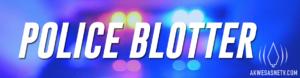 Police Blotter: 08/31/2017