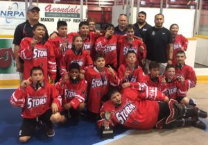 Akwesasne Storm Peewees Take St. Catharines Tourney