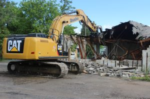 Former-Fire Station #1 Removed for Community Greenspace