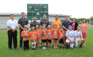 $30,000 Scoreboard donated to Generations Park by Tarbell Management Group