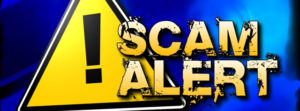 Scam Alert person posing as an employee of the Canada Revenue Agency.